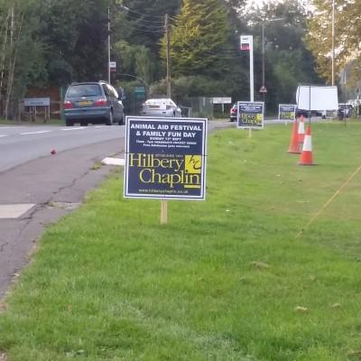 Estate agent boards Signage
